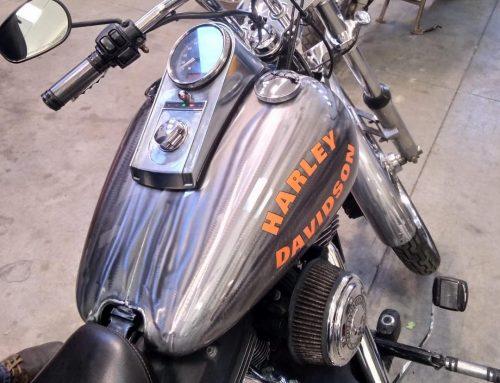 Personalizzazione Harley Davidson 1584 Softail da base Total Black
